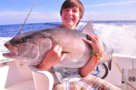 Cancun amberjack fishing