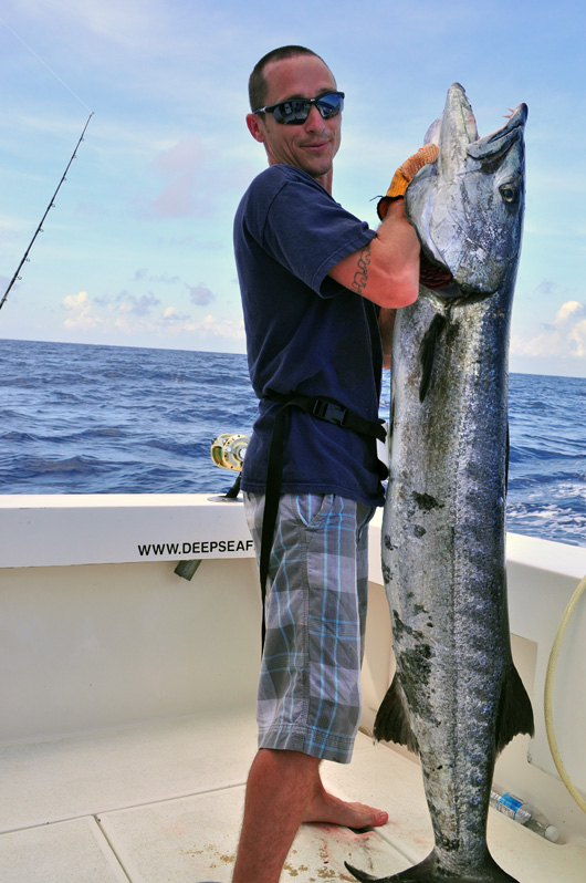 Barracuda fishing Cancun