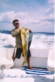 fishing charters in cancun kianah