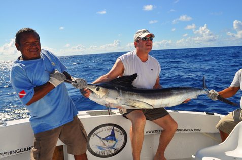White marlin fishing cancun