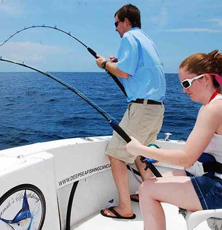 Deep sea fishing cancun sport fishing charters cancun for Deep sea fishing riviera maya
