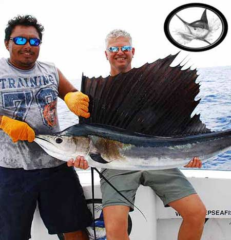 Sailfish fishing Cancun - Isla Mujeres Fishing report
