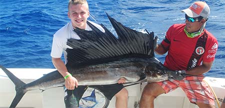 Sailfish fishing isla Mujeres - Isla Mujeres Fishing report