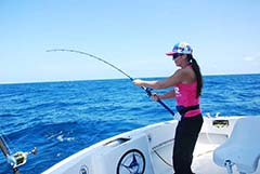 Cancun deep sea fishing charter