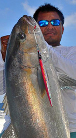 Cancun Shared fishing- vertical jigging cancun