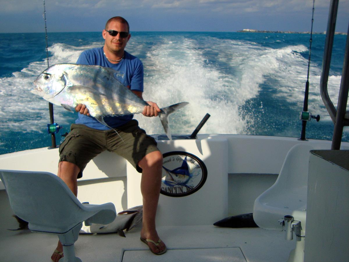 African Fishing Trips African Pompano Fishing