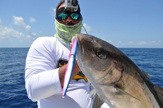 Cancun fishing charters- amberjack fishing