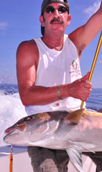 fishing trips cancun- amberjack fishing
