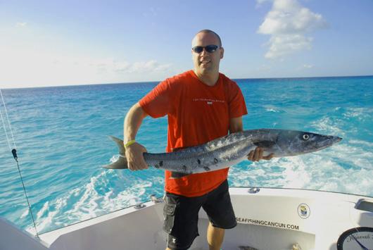 Barracuda barracuda fishing cancun barracuda fishing for Isla mujeres fishing