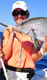 Amberjack- fishing trips cancun- jigging