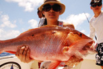 Cancun shared fishing- mutton snapper