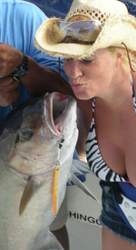 kissing an amberjack cancun