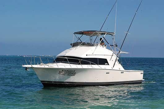 sport fishing charter in cancun