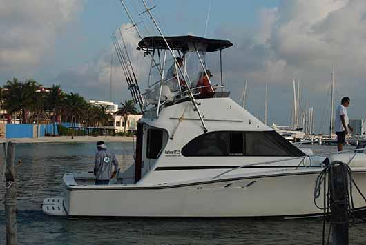grand slam fishing cancun-deep sea fishing charter