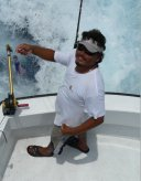 enrrique-fishing charters cancun- crew