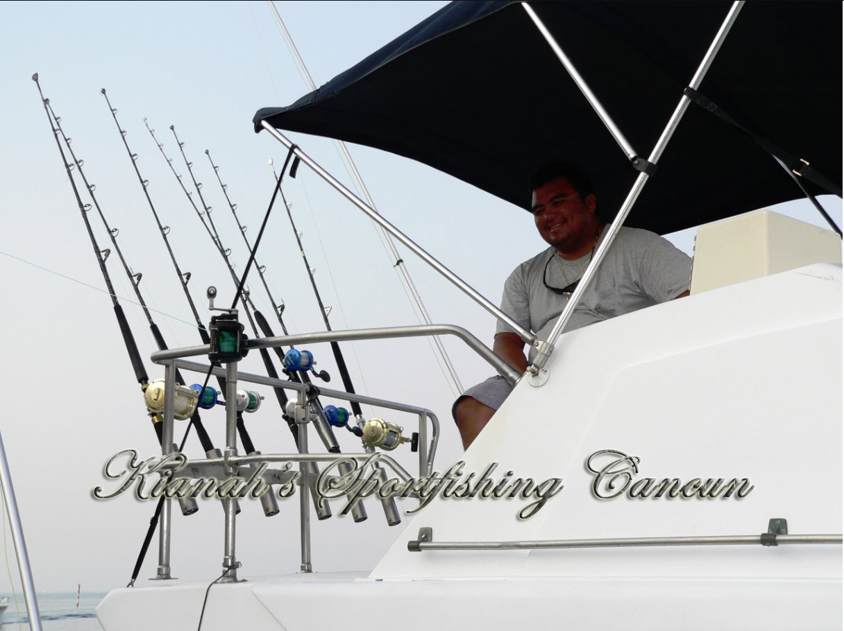 Hector-fishing charters cancun-crew